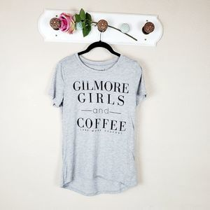 Gilmore Girls And Coffee Short Sleeve T-Shirt